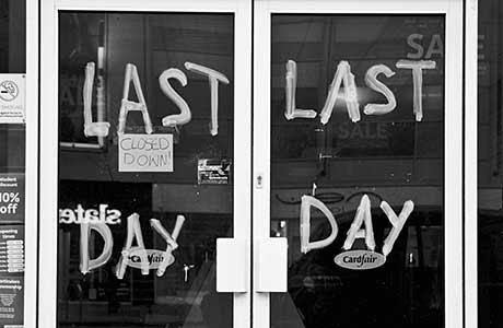 10% of Scots shops vacant