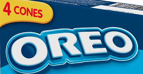 Cookies and cream – Fredericks Dairies joined up with Oreo