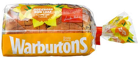 Hot cross loaf