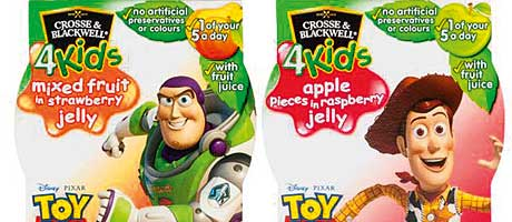 The Buzz about jelly – Crosse & Blackwell teams up with Disney