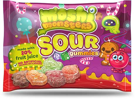 Sweet monsters get sour treatment