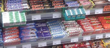 Shoppers rush to sugar but still want choc value