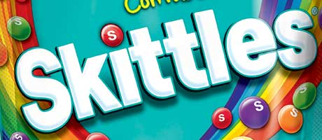 Skittles get the Wonka treatment