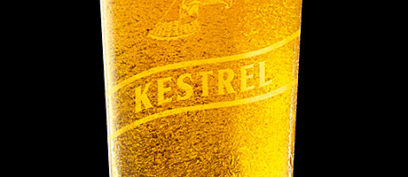 Beer brand flies back