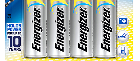 High energy – Launch of new Energizer variants