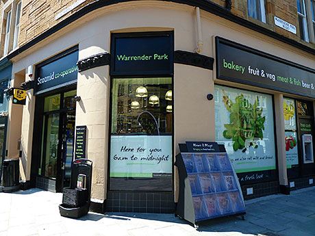Warrender Park Edinburgh unit where Scotmid has trialled its new fresh food-led style of store, which it intends to roll out to around 20 stores in the estate.