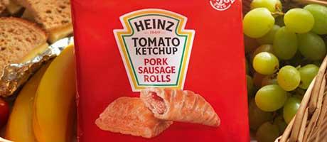 With pastry plus beanz picnicz meanz Heinz