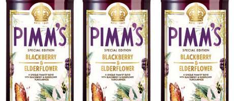 First edition – Pimm's blackberry and elderflower