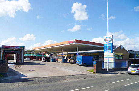 Fuel and shop site for sale