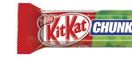 Chunky mint tops the KitKat vote
