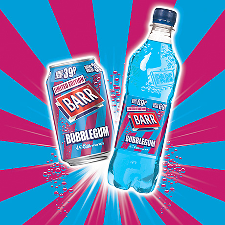 Summer bubbles – New flavour from Barr