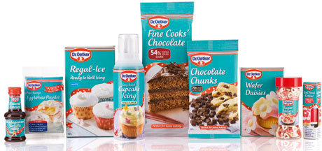 Even better look for Dr Oetker