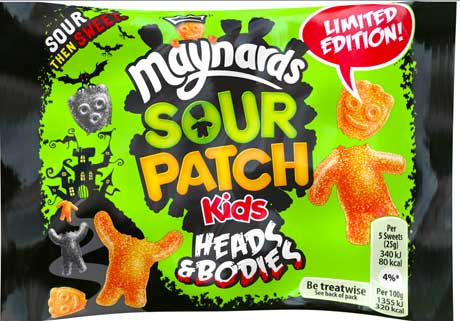 Sour Patch Kids Heads & Bodies