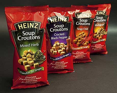 Credit to the crunch – New croutons for Heinz