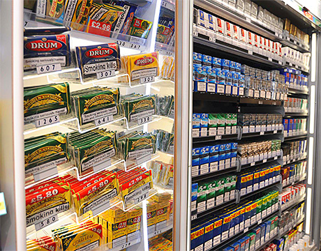 JTI removes gantry from Aberdeen tobacco ban store