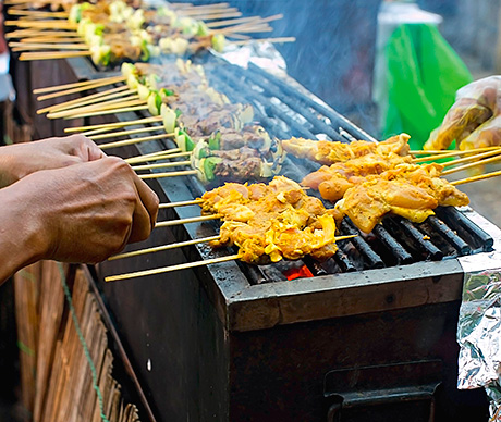 Heat of the street – demand for exotic cuisines