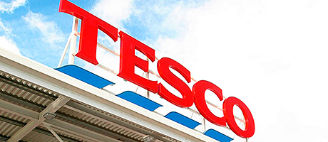 Tesco says things are looking up