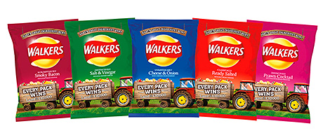 Searching for the taste of home – Walkers crisps