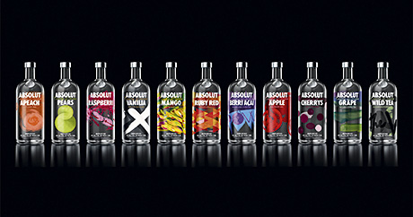 The essence of Absolut art – Packaging revamp for vodka brand