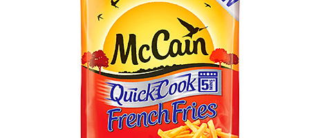 High five for fries – McCain