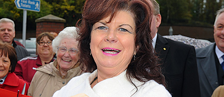 Elaine's back to relaunch Motherwell