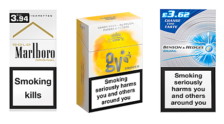 South American cigarettes Lambert Butler brands