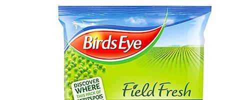 Eyes on the pea process – Birds Eye online origin app