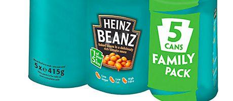 Heinz gives it five – New Beanz multipack