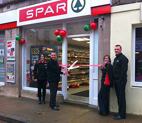 Positively open – New Spar store for Keith