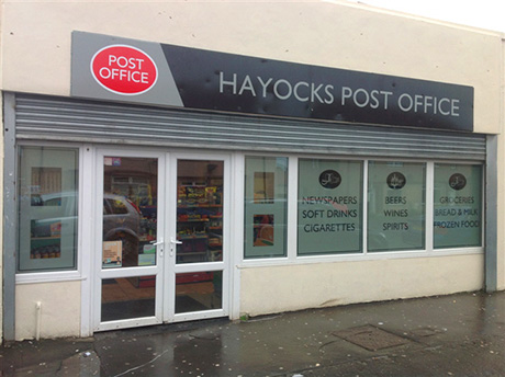 Post office comes to market