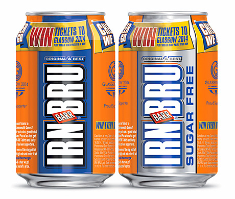 Irn-Bru activity will include an on-pack competition to win tickets.