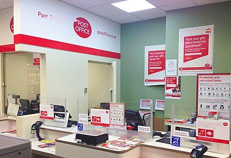 City Spar adds post office
