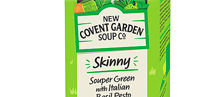 Skinny soups to put the message across