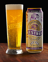 Brookfield Drinks bought and relaunched Kestrel. But it isn't just a retro brand, the firm says it wants to rekindle a quality lager brewing scene in Britain.