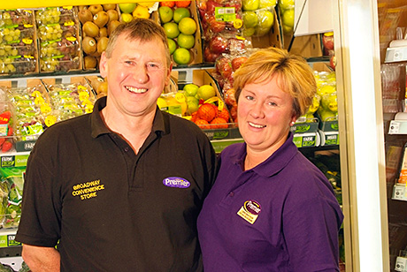 Dennis and Linda Williams. Aldi wants to open very close to their award-winning store.
