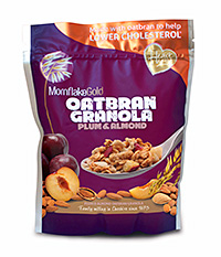 Mornflakes' re-sealable granola and muesli ranges are marketed as affordable luxuries for consumers who want to treat themselves.