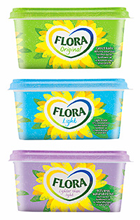 Flora brand owner Unilever says retailers can capitalise on sales of healthier spreads by stocking them alongside regular products to encourage consumers to try something new.