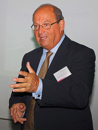 Brian Madderson, chairman of the  Petrol Retailers' Association.