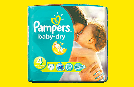 Pampers revamped – New look nappies
