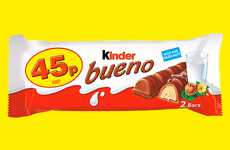 Classic attractions – Kinder Bueno