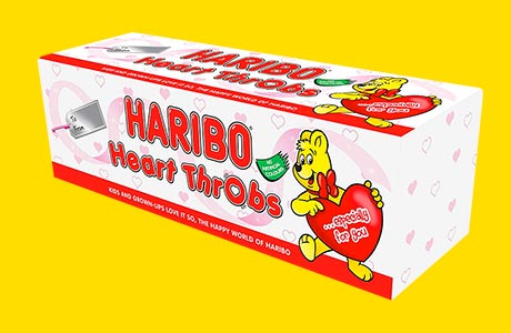 Mum's the word – Haribo Throbs tube