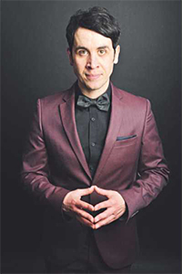 Comedian Pete Firman, set to get the laughs going on our big Awards night.