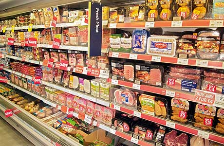 Food sales slump in February chill