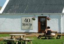 40 North on Lewis, last year's winner of the Highlands and Islands Food and Drink Awards Independent Retailer of the Year title.