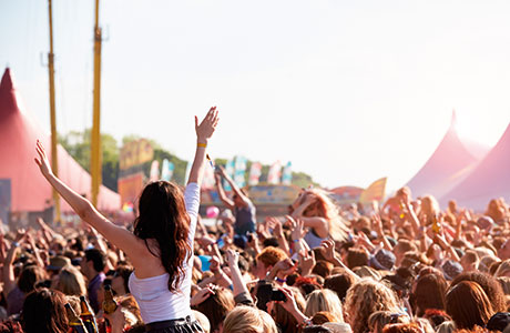 Music festivals such as T in the Park are great opportunities to sell everything from soft drinks and snacks to sunblock to toilet rolls