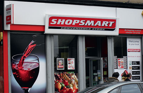 Shopsmart, one of Scotland's growing symbol group players. There are now more than 200 across Scotland.