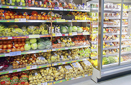 Food sales suffered in March compared to the same month last year. The figures are distorted by the timing of Easter (March last year, April this year) but still point to an underlining decline in sales across Scotland.