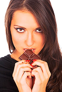 Let's hear it for the considerate ladies. Women are more likely than men to take the recipient's preferences into account  when buying chocolate as a gift, Mintel found.