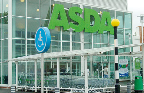 Asda was the only one of the big four retailers to restrict its sales decline to less than 1% in the first quarter of 2014 compared to the same period in 2013.
