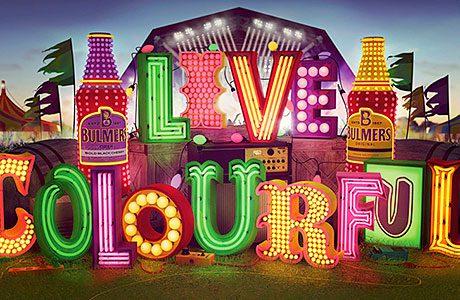 Cider campaign bursts into colour